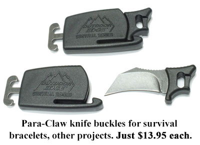 para claw knife buckles