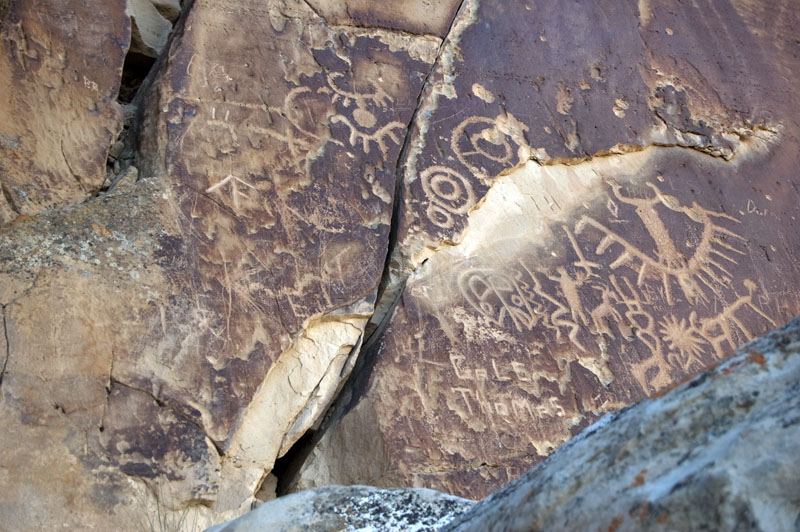 ferrin canyon rock art